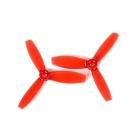 Paire d'hélices DYS XT3045 tripales Rouge
