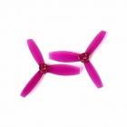 Paire d'hélices DYS XT3045 tripales Violet