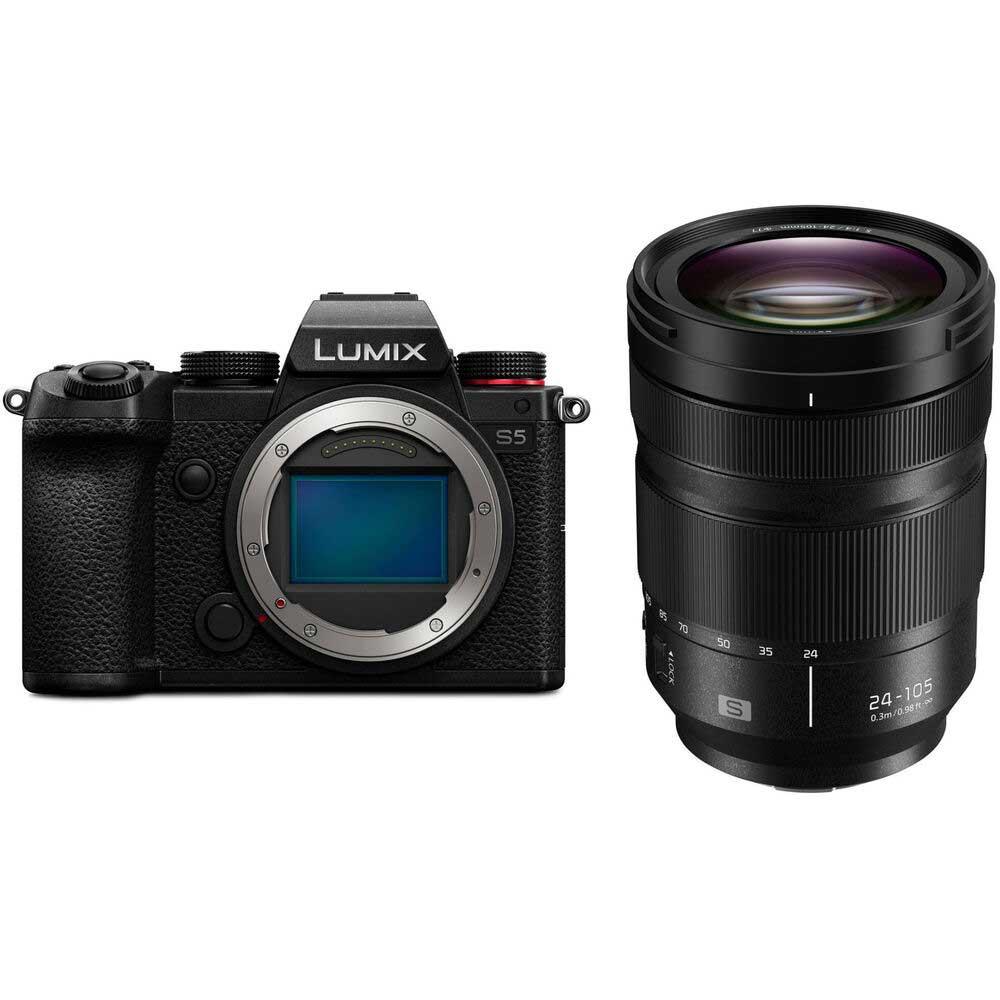 Panasonic Lumix S5 avec objectif 24-105 mm f/4