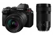 Panasonic Lumix S5 avec objectifs 20-60 mm et 70-300 mm