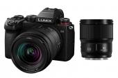 Panasonic Lumix S5 avec objectifs 20-60 mm et 85 mm