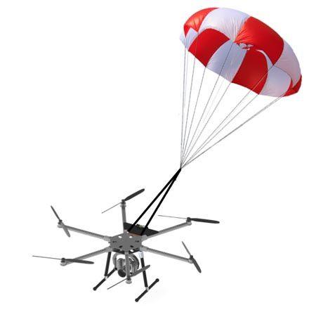 Parachute de secours 15m² Opale pour Multirotors
