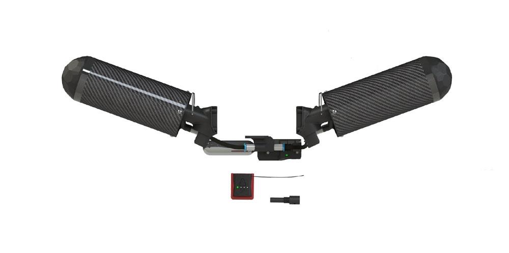 Parachute double et coupe circuits interne pour DJI Matrice 300 RTK Dronavia Zéphyr