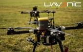 Parachute Galaxy GBS 10/150 monté sur un drone professionnel