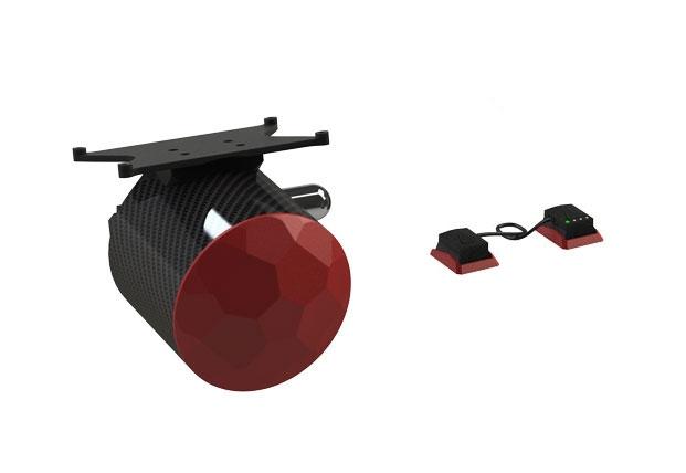 Parachute simple avec coupe circuits interne Zéphyr pour Matrice 300 RTK