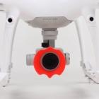 Pare soleil pour caméra Phantom 4 Pro vue de face