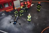 Le Parrot Bebop Pro Thermal exploité en situation par les sapeurs pompiers français
