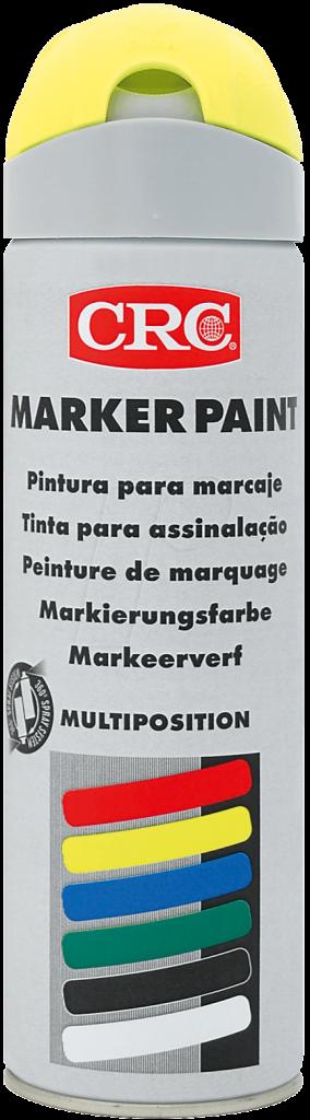 Peinture de marquage en aérosol 500 ml jaune