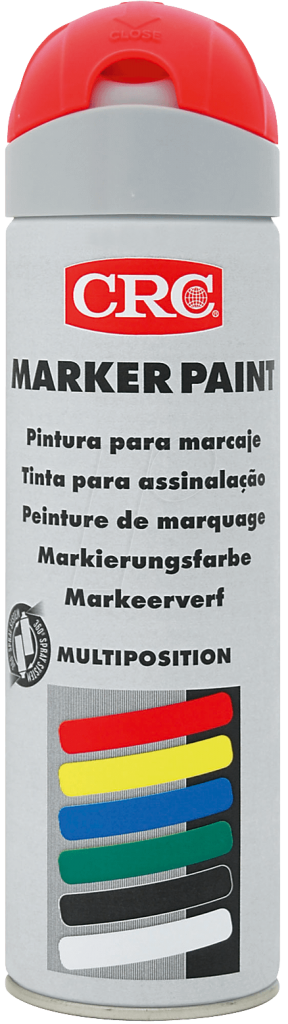 Peinture de marquage en aérosol 500 ml rouge