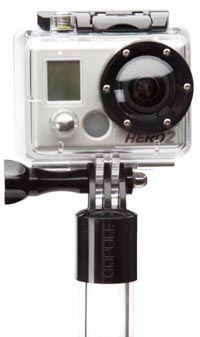 Perche GoPole 66 cm transparente pour GoPro