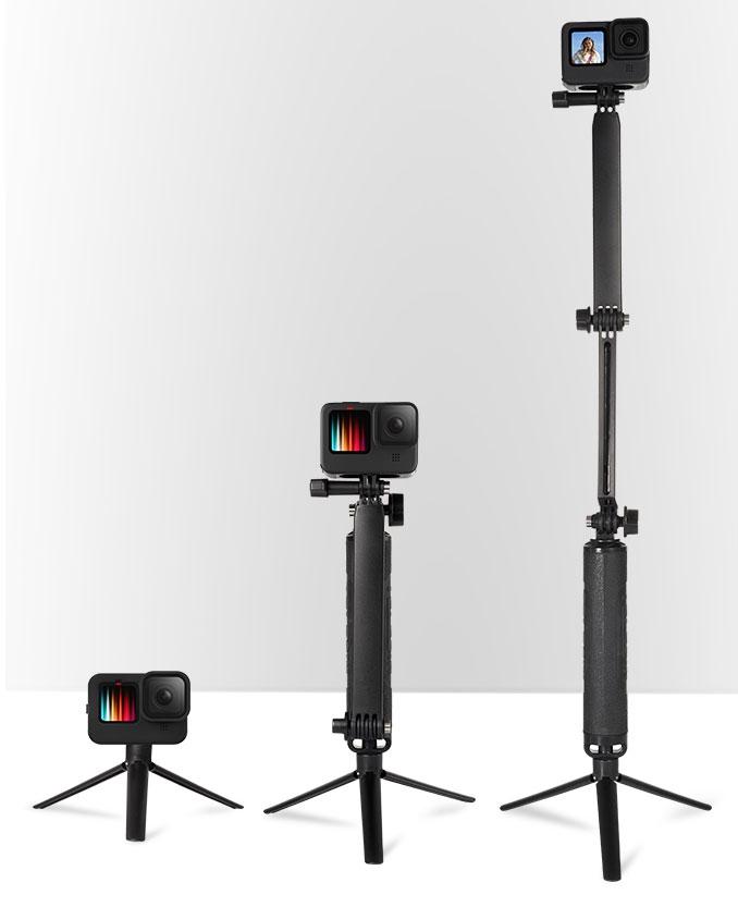 Perche multifonction pour actioncam - Telesin