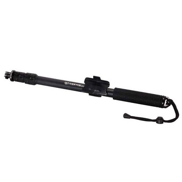 Perche télescopique Metal Pro M3 pour GoPro repliée