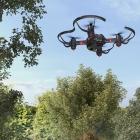 Drone Petrone Fighter ByRobot en vol extérieur