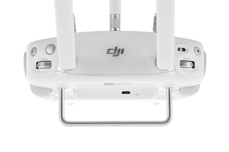 Radiocommande du DJI Phantom 3 4K vue de haut