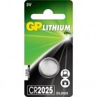Pile bouton GP CR 2025-2C1 Lithium