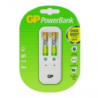 Piles alcalines GP ULTRA AAA + chargeur