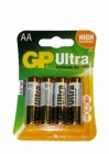 Piles alcalines GP ULTRA LR6 AA x4