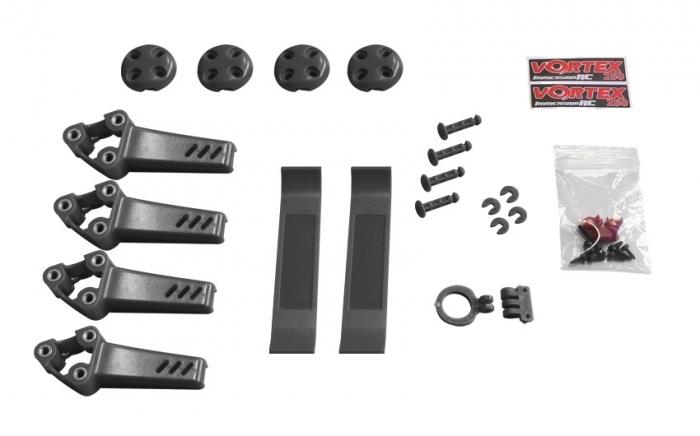 Pimp kit pour Vortex Pro 250 ImmersionRC Noir