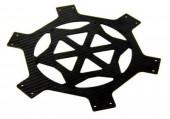 plaque centrale  amovible carbone f550 photo2