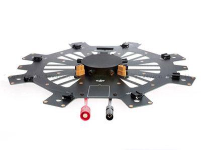 Plaque centrale châssis (bas) pour DJI S1000