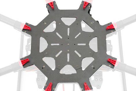 Plaque centrale châssis (haut) pour DJI S1000+