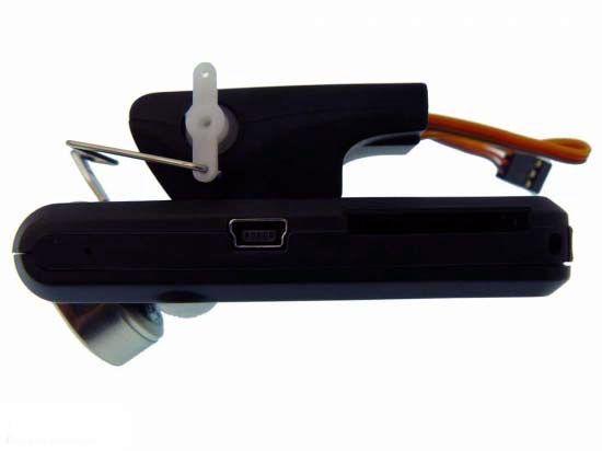 Platine de montage avec servo intégré pour FlyCamOne2