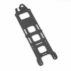 Platine supérieure carbone pour chassis Lumenier QAV-R vue du dessus