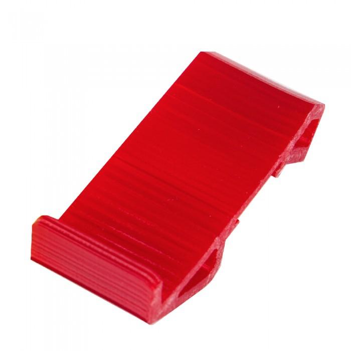 Pod de départ incliné en TPU rouge