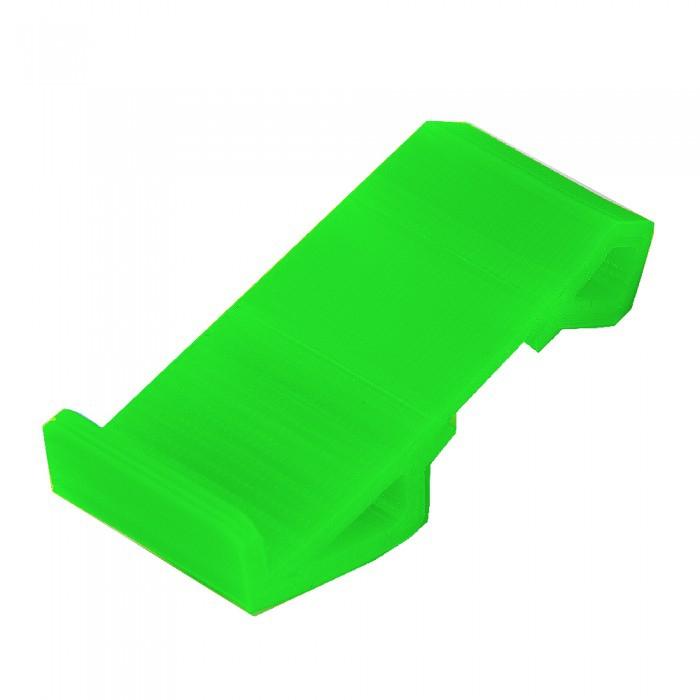 Pod de départ incliné en TPU Vert