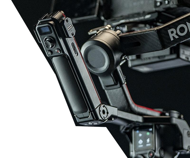 Poignée de contrôle arrière pour DJI RS 2 - Tilta