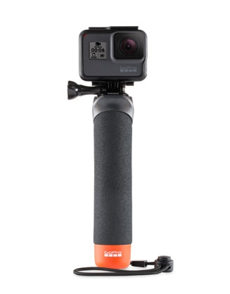 """Poignée flottante """"The Handler"""" pour GoPro - vue de face"""