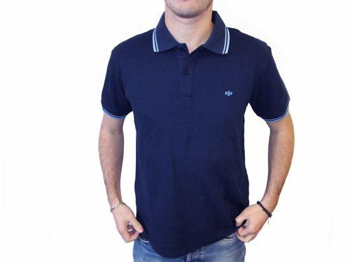 Polo bleu marine - DJI