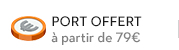 Port offert à partir de 79 euros