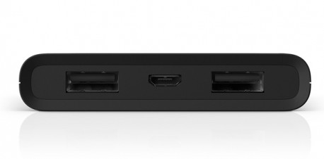 Double port USB + micro USB