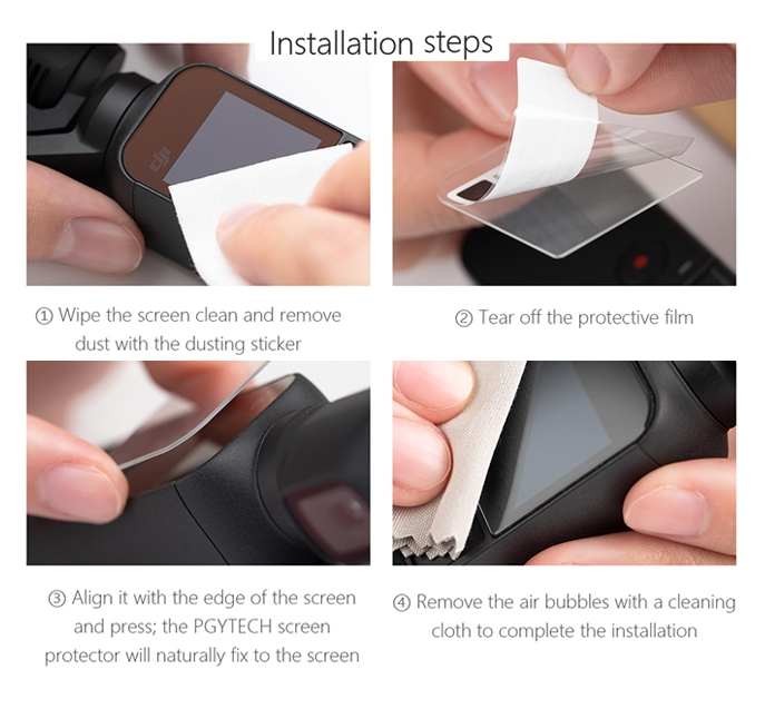 Protection d\'écran pour DJI Osmo Pocket - PGYTECH