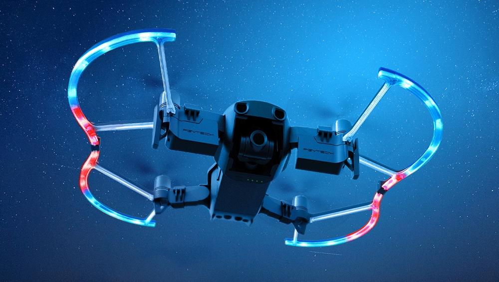 Protection d\'hélices LEDs pour Mavic Air - PGY