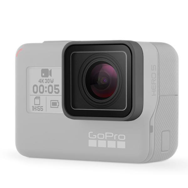 Protection de lentille installée sur une GoPro Hero5 Black