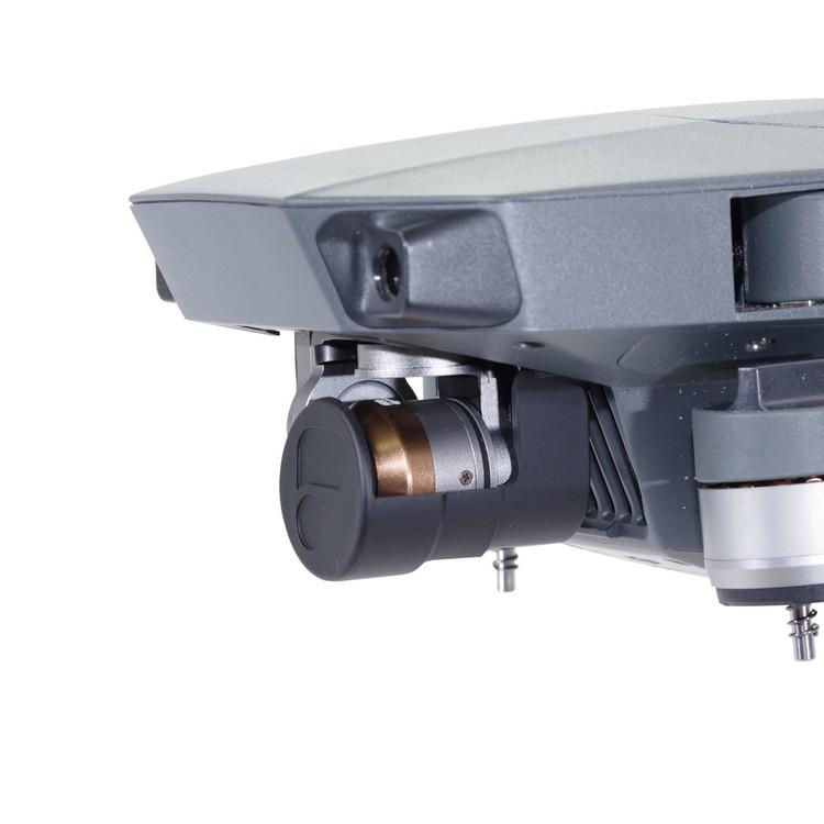 Protection nacelle PolarPro installée sur le DJI Mavic Pro - vue de biais