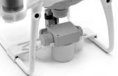 Zoom sur la protection nacelle et caméra DJI Phantom 4 Pro & Pro+ (Pro Plus)