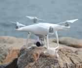 Protection nacelle et caméra avec DJI Phantom 4 Pro & Pro+ sur un rocher
