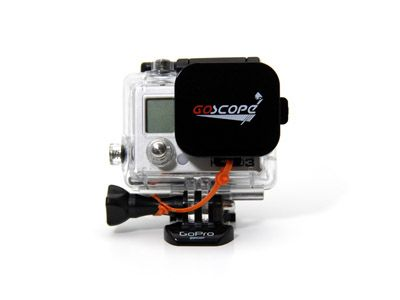 Protection objectif Goscope pour caisson Hero3