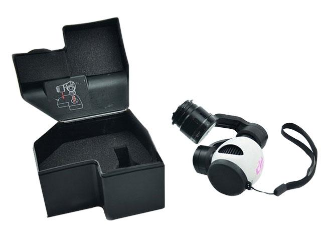 Caméra X3 de l'Inspire 1 avec protection noire
