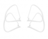 4 protections d'hélices clipsables DJI Phantom 4 - vue de face