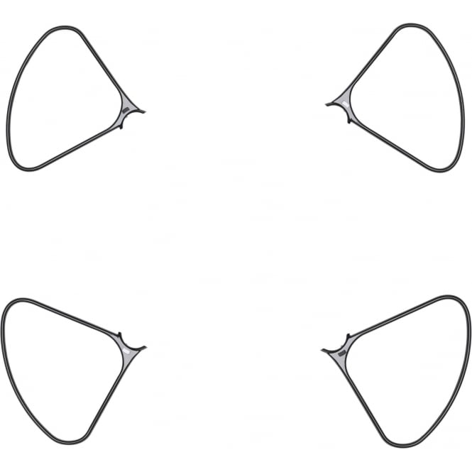 Protections d\'hélices pour DJI Phantom 4 Pro (Obsidian)