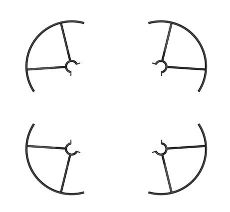 Protections d'hélices pour nano drone Ryze Tello - DJI
