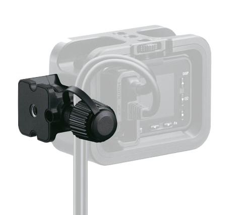 Protège câbles pour caméra Sony RX0 - vue de dos