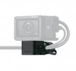 Protège câbles avec caméra Sony RX0 - vue de face