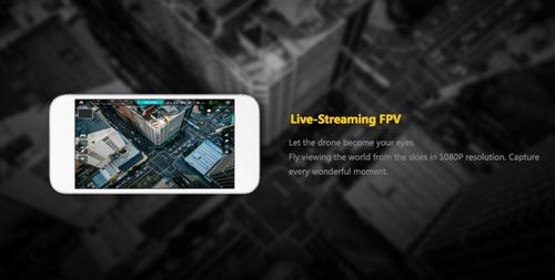 Capture d'écran de l'application avec retour vidéo en direct