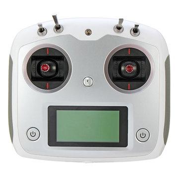 Radio FlySky i6S 10 voies RC blanche Vue de face