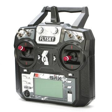 Radio Flysky i6X 10 voies RC vue de trois quart